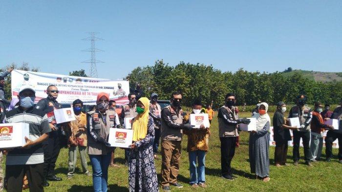 Kunjungi Dusun Terisolir di Kabupaten Semarang, Polda Jateng Salurkan 400 Paket Sembako
