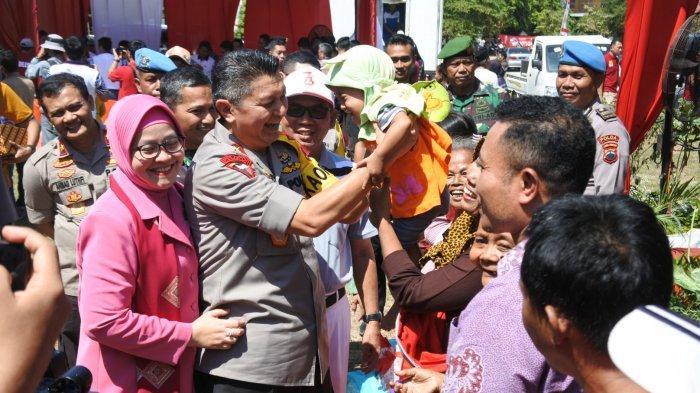 HUT ke-73 Bhayangkara, Polda Jateng Bagikan Seribu Paket Sembako