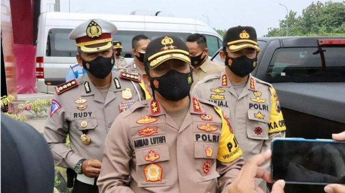 Kapolda Jateng, Irjen Pol Ahmad Luthfi ketika melakukan pengecekan di beberapa jalan tol, Selasa (22/12/2020).