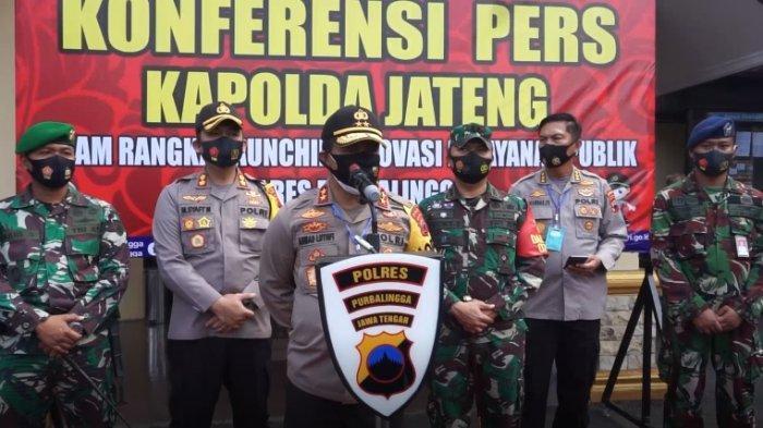 Kapolda Jateng Resmikan 3 Inovasi Pelayanan Publik Polres Purbalingga