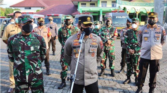 TNI-Polri Terapkan Manajemen Kontijensi Dalam Penanganan Covid 19 di Kudus
