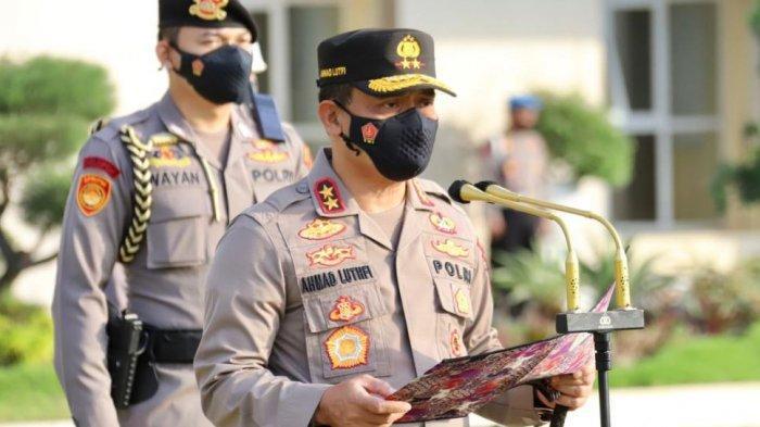 Kapolda Jateng Minta Jajaran Melakukan Sosialisasi Bahaya Covid 19 Secara Masif