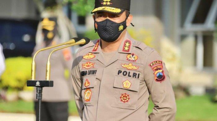 Kapolda Jateng Irjen Pol Ahmad Luthfi berikan pengarahan terhadap jajaran terkait penanganan Covid 19.
