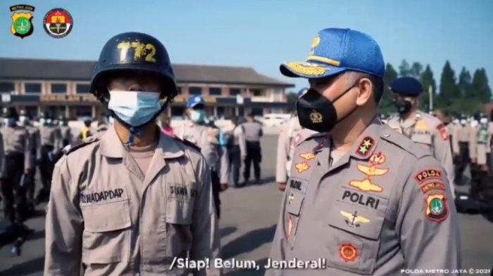 Momen Kocak Kapolda Metro Jaya Irjen Fadil Imran Tak Dikenali Siswa SPN