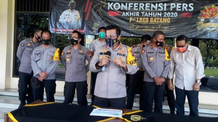 Angka Kejahatan di Kabupaten Batang Naik 2,7 Persen