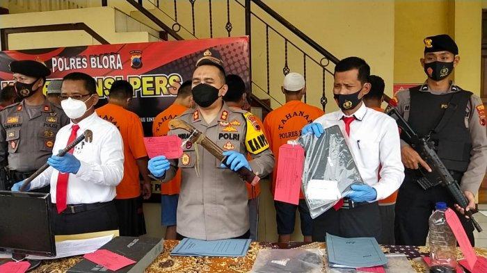 Komplotan Pencuri di Blora Tertangkap Setelah Lima Kali Beraksi