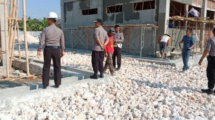 Kapolres Blora Cek Proses Pembangunan Kantor Satpas