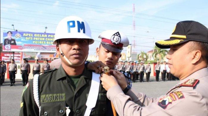 Kapolres Blora Pimpin Apel Gelar Pasukan Operasi Patuh Candi 2019
