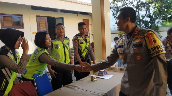 Polres Brebes Terjunkan 85 Personel Amankan Rapat Pleno KPU
