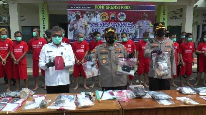 Edarkan Sabu, Pegawai Lapas Purwokerto Ditangkap Satres Narkoba Polres Cilacap