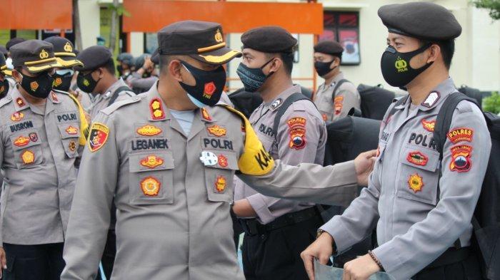 150 Personel Polres Karanganyar Bantu Pengamanan Pilkada Wonogiri 2020