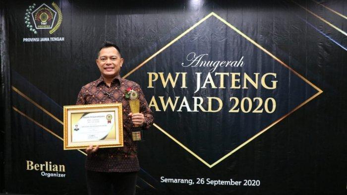 Kapolres Kebumen AKBP Rudy Cahya Kurniawan Raih Penghargaan di Bidang Inovasi Kamtibmas