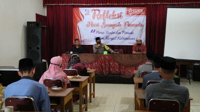 Kapolres Kebumen AKBP Rudy Cahya Ajak Para Santri Jaga Kondusifitas di Wilayah Masing-masing