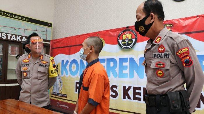 Warga Banjarnegara Ini Tak Kapok 6 Kali Masuk Penjara, Kini Ditangkap Anggota Polres Kebumen