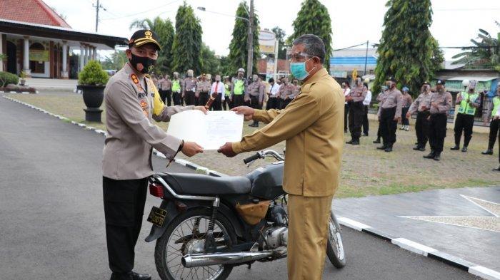 Warga Bantul Yogyakarta Menang Lelang 29 Unit Bekas Kendaraan Dinas Polres Kebumen