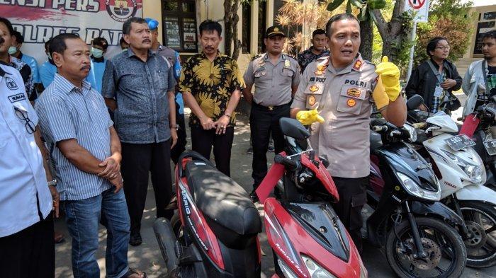 Polres Pati Ungkap 7 Kasus Pencurian dalam Operasi Sikat Candi 2019, Suwardi Senang Motor Kembali