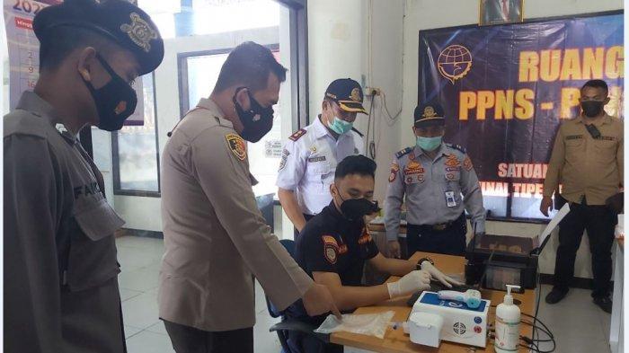 H-1 Terminal Pekalongan Terpantau Sepi, Antisipasi Pemudik Tetap Dilakukan