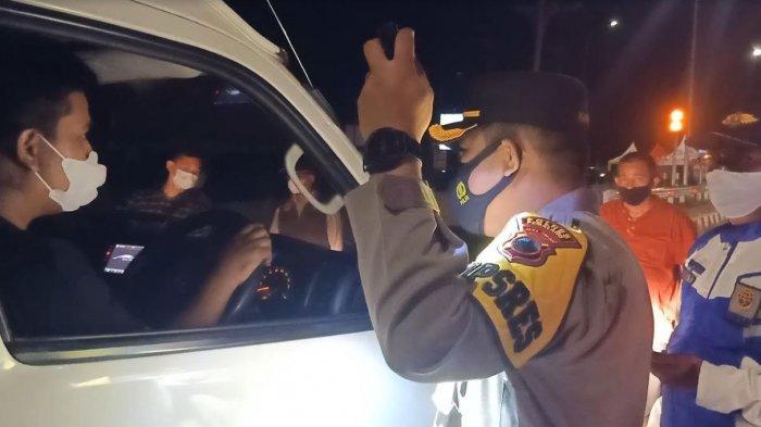 Polisi Amankan 2 Unit Bus PO Setia Negara dan Dewi Sri karena Penumpang tak Bawa Surat Keterangan