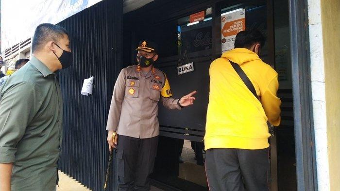 AKBP Ganang Nugroho Widhi di Bank Wonosobo Selomerto.