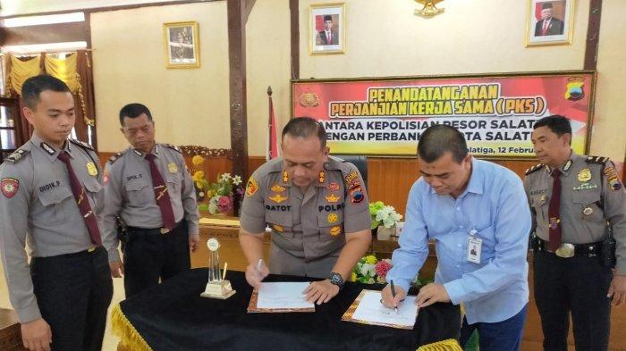 AKBP Gatot Hendro Hartono Jamin Keamanan Perbankan Jalankan Roda Perekonomian di Kota Salatiga