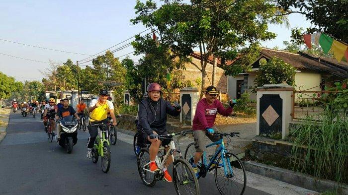 HUT Bhayangkara Ke-73, Ribuan Masyarakat Ikuti Gowes Bareng Polres Salatiga