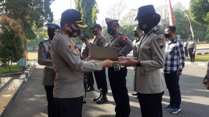 Terlibat Antisipasi Karhutla, 36 Personil Polres Salatiga Terima Penghargaan