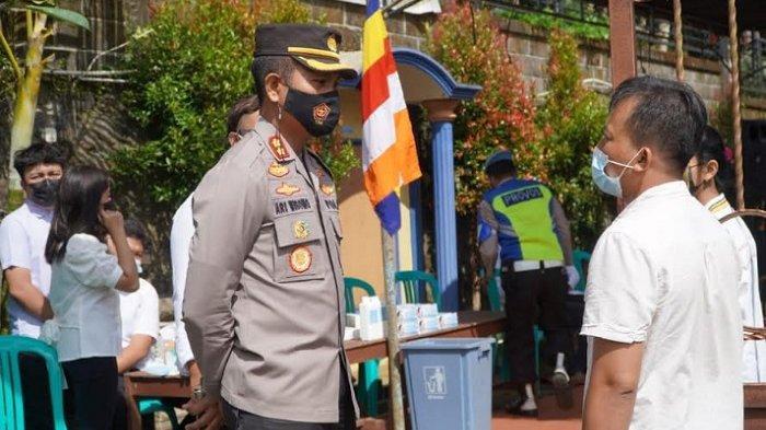 Polres Semarang Terjunkan 260 Personil Amankan Perayaan Waisak di Ungaran