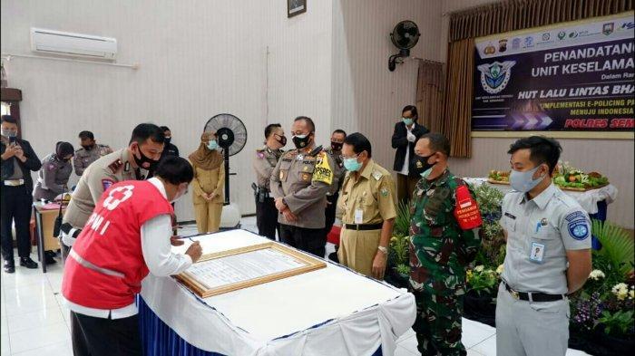 Peringati HUT Lalulintas ke 65, Polres Semarang Luncurkan Unit Khusus Tangani Kecelakaan