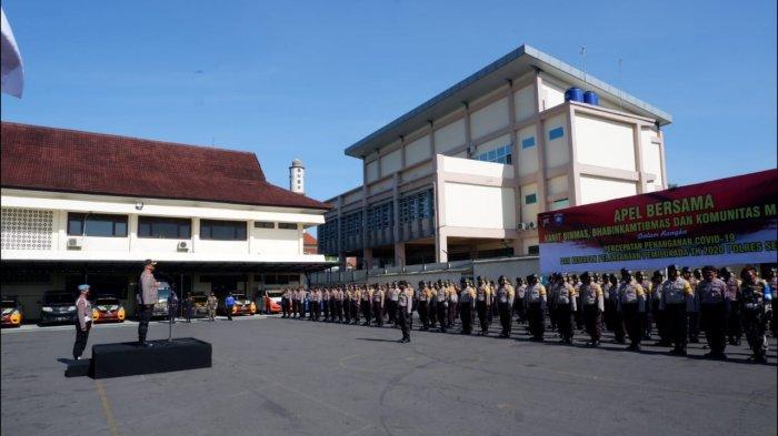 Polres Semarang Maksimalkan Peran Bhabinkamtibmas Percepat Penanganan Covid-19