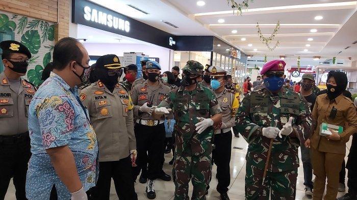 New Normal Kota Tegal, Tiap Mal Akan Dijaga 40 Petugas Gabungan TNI dan Polri