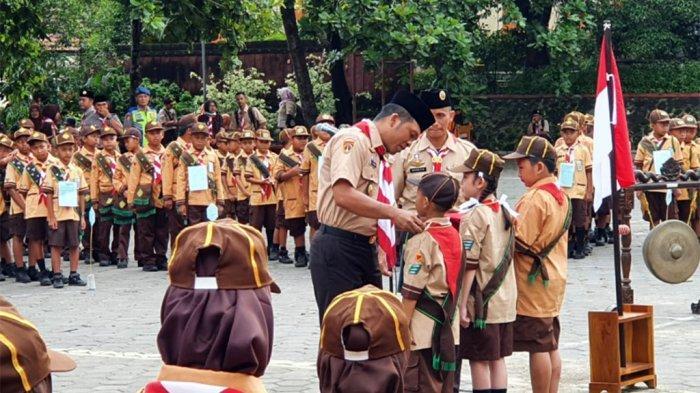 AKBP Cristian Tobing Ajak Peserta Pesta Siaga Pramuka Wonogiri Doakan Siswa SMPN 1 Turi Sleman