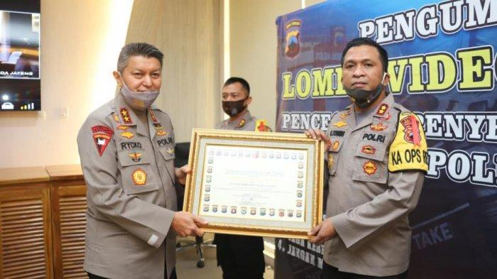 Kapolres Wonogiri Raih Juara 1 Dalam Pelaksanaan 9 Program Kapolda Jateng