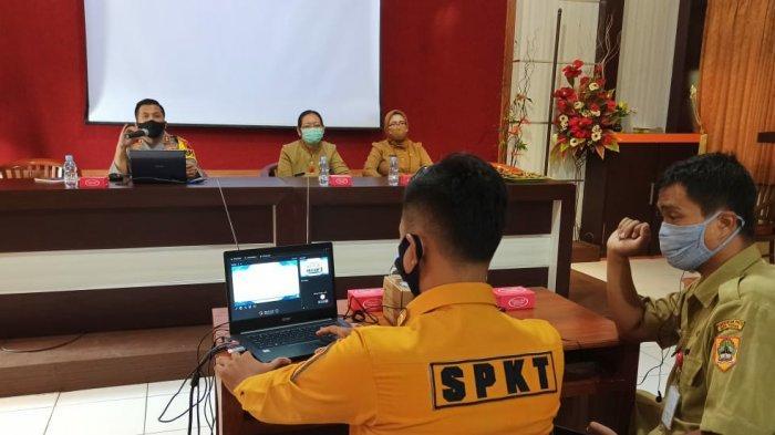Kapolres Wonogiri Sosialisasikan Yanpatdu Sekaligus Bahaya Narkotika ke Pelajar SMK Negeri 2