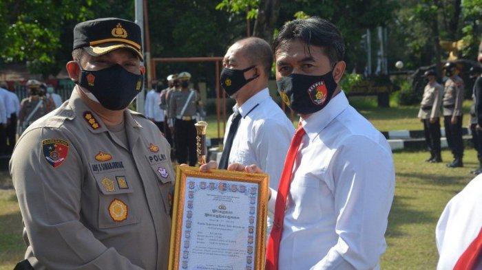 33 Polisi Berprestasi Dapat Penghargaan dari Kapolresta Solo