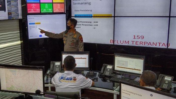 626 Pemudik Datang ke Kota Semarang Sebelum Penyekatan