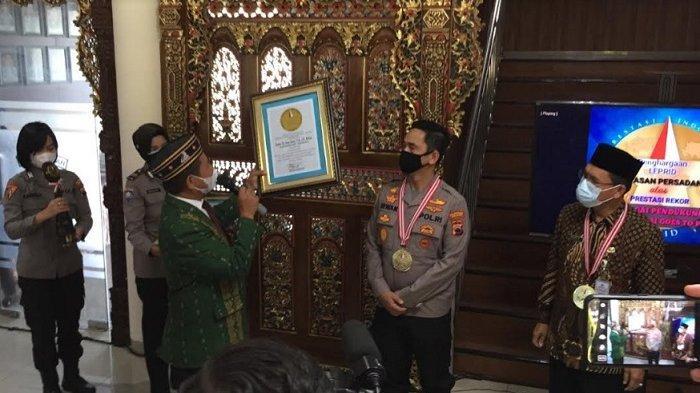 Polrestabes Semarang Dapat 2 Penghargaan dari Leprid