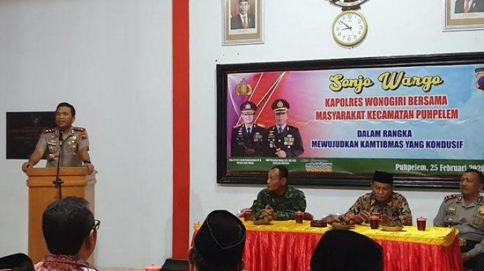 Kapolres Wonogiri Ingatkan Pentingnya Peran Masyarakat dalam Menjaga Keamanan