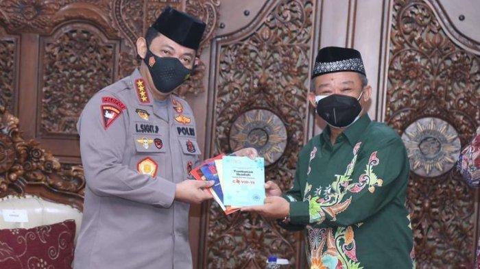 Ditemui Listyo Sigit, MuhammadiyahDukung Program Kapolri Soal Moderasi Beragama
