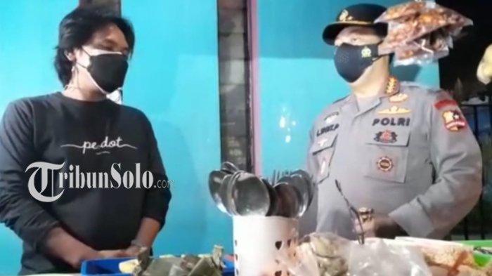 Penjual Wedangan di Solo Ini Kaget Saat Didatangi Kapolri, Ternyata Mau Diberi Sembako