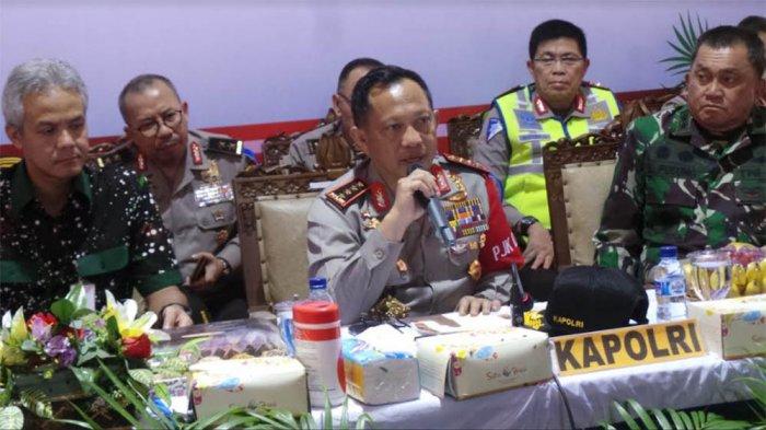 Kapolri Sebut telah Tangkap 20 Orang Berpotensi Sebar Teror saat Natal dan Tahun Baru