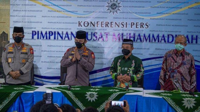 Jenderal Sigit Ucapkan Fastabiqul Khoirat saat Silaturrahmi ke PP Muhammadiyah