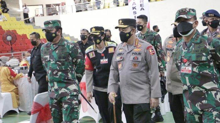 Panglima TNI Dan Kapolri Akan Tinjau Pelaksanaan Vaksinasi Di Solo
