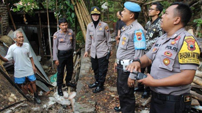 Kapolsek Gajahmungkur Catat 3 Kelurahan Rawan Longsor dan Pohon Tumbang di Kota Semarang