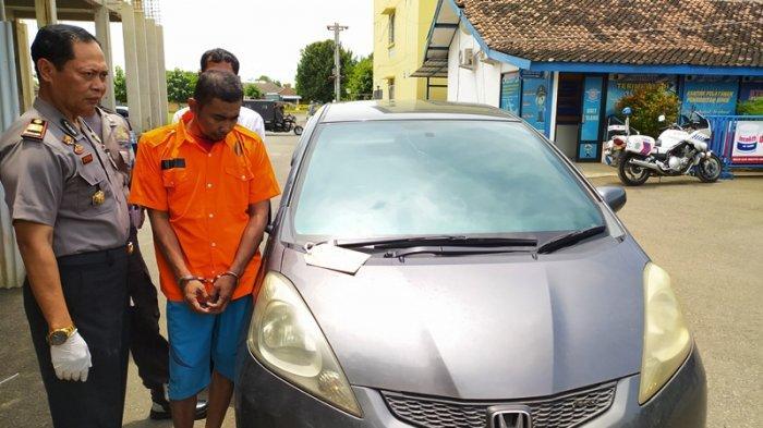 Beli Honda Jazz Cash tapi Mobil Malah Ditarik Debt Collector, Ihsan Lapor ke Polsek Gemolong Sragen