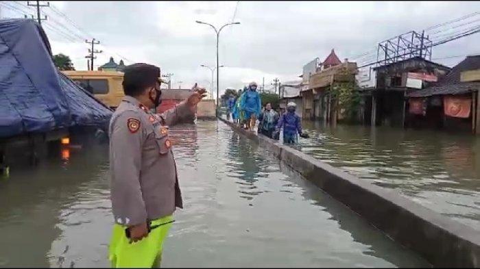 Update Banjir Semarang Hari Ini, Ketinggian Air di Kaligawe Capai 1 Meter