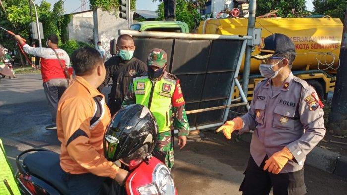 Tiba di Mangkang Semarang, Bus Asal Jambi Dipaksa Putar Balik