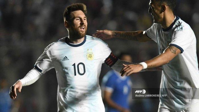 Hasil Kualifikasi Piala Dunia 2022 Argentina Vs Ekuador, Gol Tunggal Dicetak Messi lewat Penalti