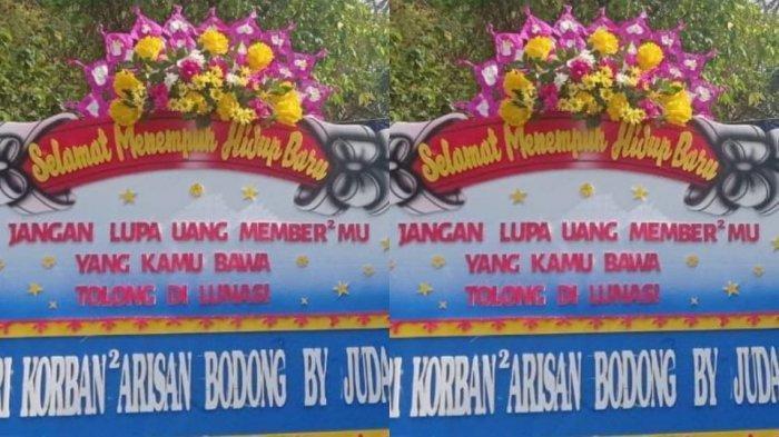 Emak-emak Geruduk Pernikahan Admin Arisan Bodong di Solo, Kirim Karangan Bunga Hingga Dijambak