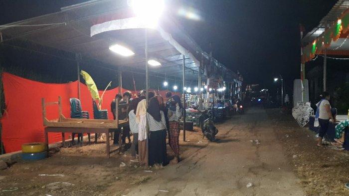 Karang Taruna Karya Muda Bulurejo Plupuh Sragen Adakan Pasar Ramadan dan Baksos