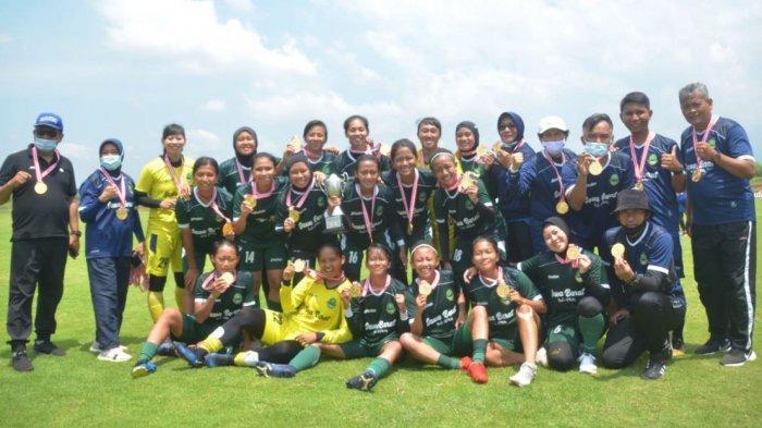 Berlangsung di Pati, Tim PON Jawa Barat Jawara Kartini Safin Cup